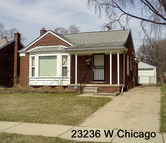 23236 W Chicago Redford MI, 48239