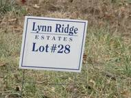 Lot 28  Lynn Ridge  Estates Lynnville IN, 47619