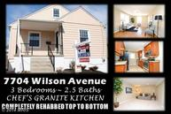 7704 Wilson Avenue Baltimore MD, 21234