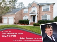 113 Crafton Park Lane Cary NC, 27519